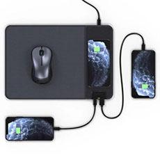 Wireless charging mousepad