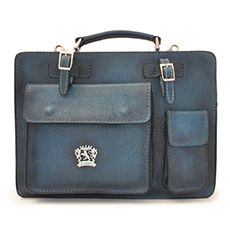 Pratesi Milano business bag blauw