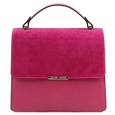 leren dames handtas Irene Tuscany Leather