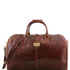 Tuscany Leather Antigua leren reistas bruin