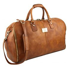 Tuscany Leather Antigua leren reistas cognac