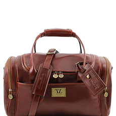 Tuscany Leather TL Voyager leren reistas bruin